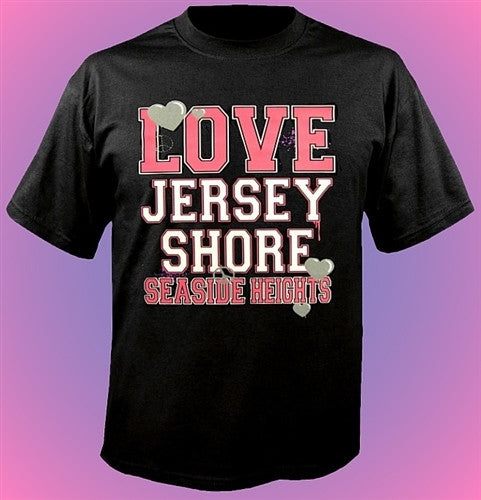Jersey Shore Love And Peace T-Shirt