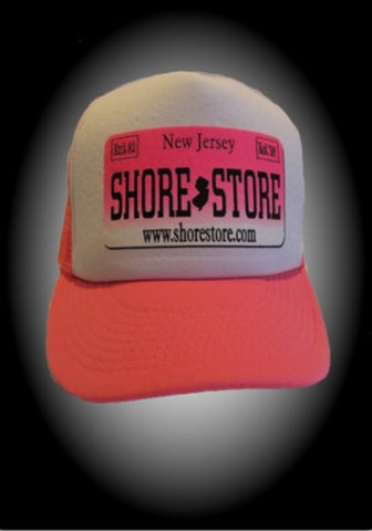 Pink and White Trucker Hat