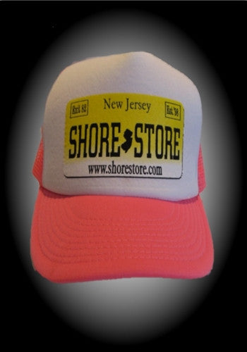 Shore Store License Plate Hat