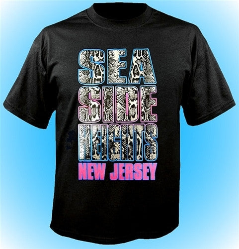 Seaside Heights Silver Snake T-Shirt