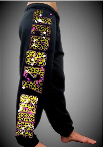 Jersey Shore Leopard Sweatpants