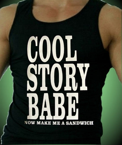 Cool Story Babe Tank Top Men's