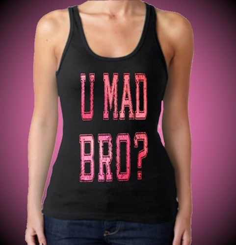 You Mad Bro Tank Top Women's