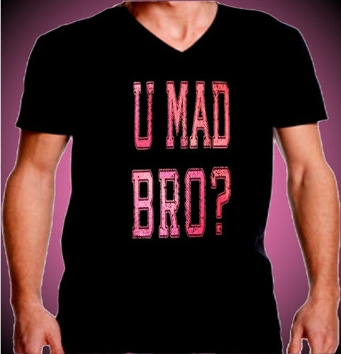 You Mad Bro V-Neck Men's