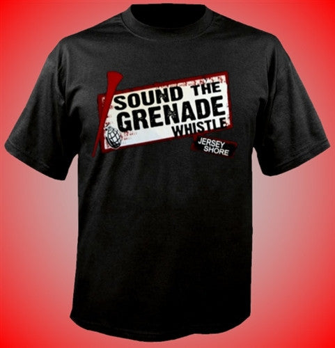 Sound The Grenade Whistle  T_Shirt