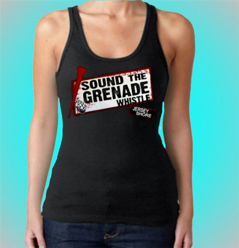 Sound The Grenade Whistle Tank Top Women's