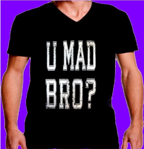 You Mad Bro  V-Neck