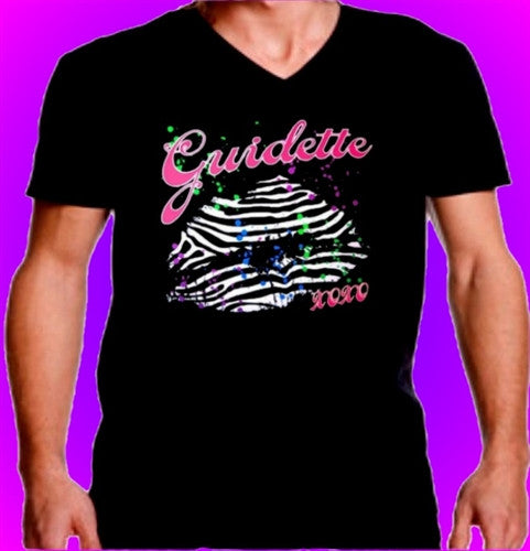 Guidette Kisses V-Neck Men's