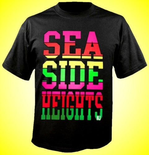 Seaside Heights Neon T-Shirt