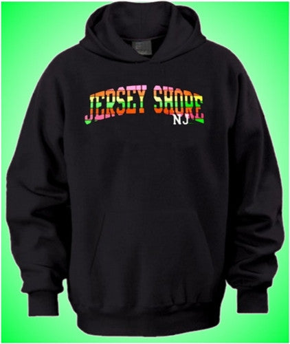 Jersey Shore Neon Arch Hoodie