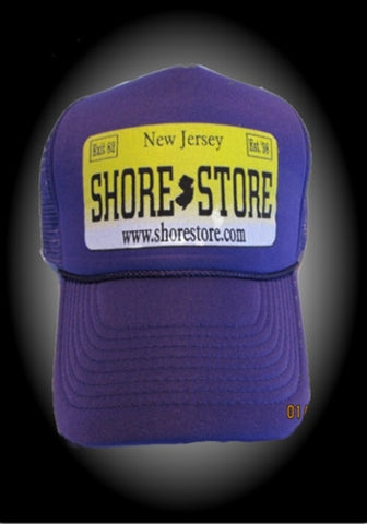 Shore Store License Plate Hat. One Size