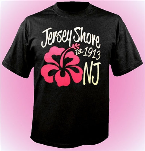 Jersey Shore 1913 Flower T-Shirt 472