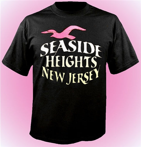 Seaside Heights Seagull T-Shirt 473