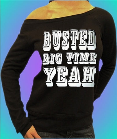 Busted Big Time Yeah Off The Shoulder 2
