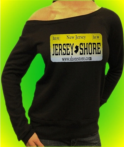 Jersey Shore Plate Off The Shoulder 55