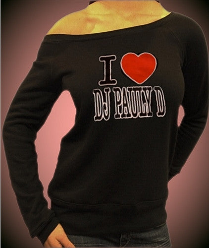I Heart DJ Pauly D Off The Shoulder 33