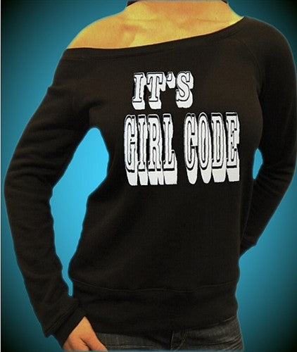 Its Girl Code Off The Shoulder 50