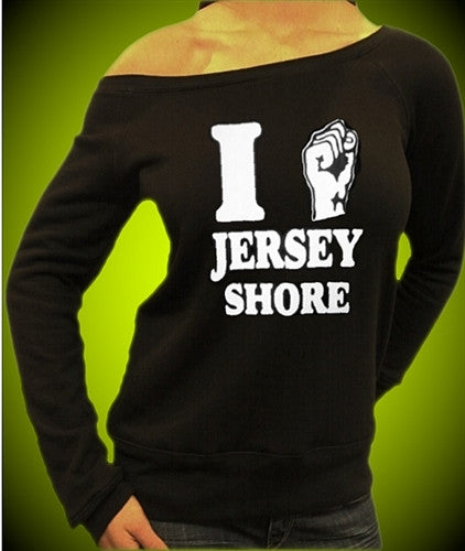 I Fist Jersey Shore Off The Shoulder 307