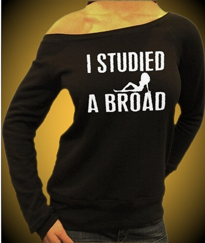 I Studied A Broad Off The Shoulders 371