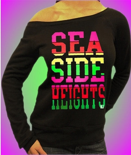 Seaside Heights Rainbow Off The Shoulders 458