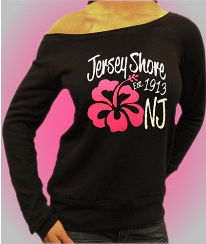 Jersey Shore Flower Off The Shoulders 472
