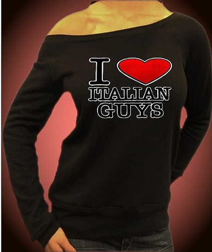 I Heart Italian Guys Off The Shoulders 203