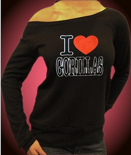 I Heart Gorillas Off The Shoulder 29