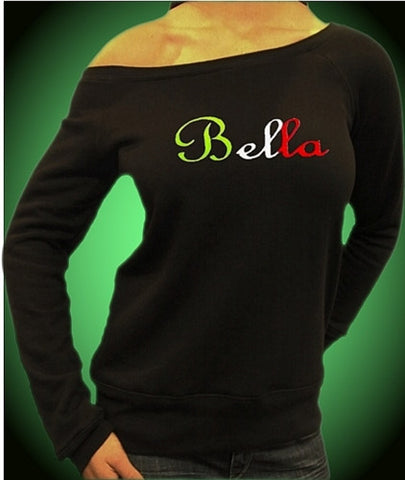Bella Italian Colors Off The Shoulder 324
