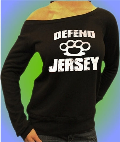 Defend Jersey Off The Shoulder 100