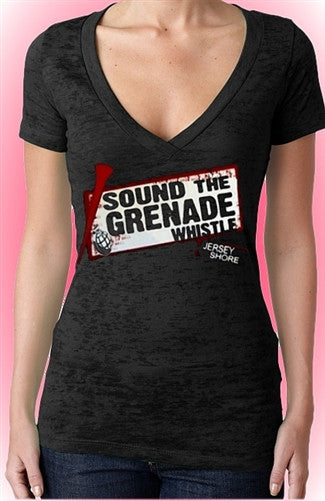 Sound The Grenade Burnout V-Neck W 80