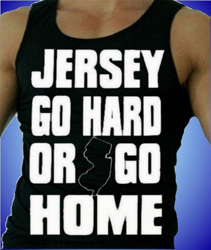 Jersey Go Hard Or Go Home Tank Top M 116