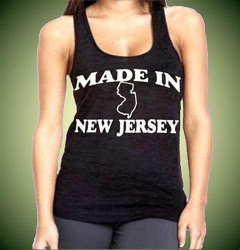 Made In New Jersey Burnout Tank Top W 121