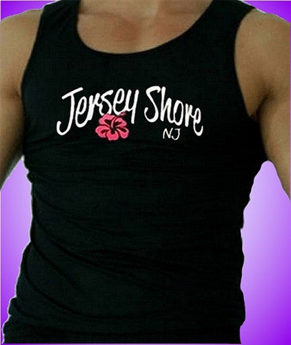 Jersey Shore Flower Tank Top M 475