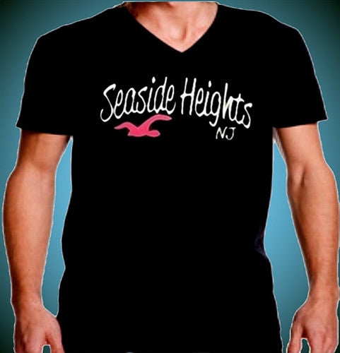 Seaside Heights Seagull V-Neck 476