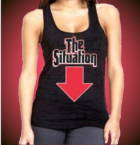 The Situation Arrow Burnout Tank Top W 91