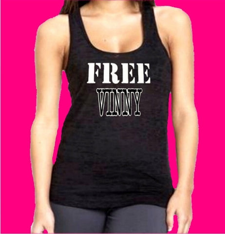 Free Vinny Burnout Tank Top Women's