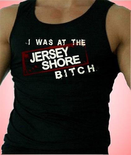 I Was At The Jersey Shore Tank Top M 335