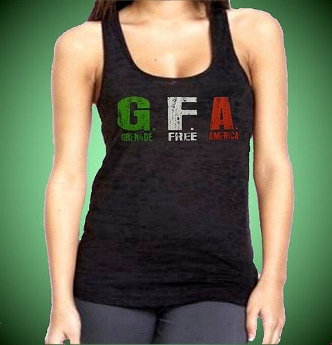 GFA Italian Burnout Tank Top W 358
