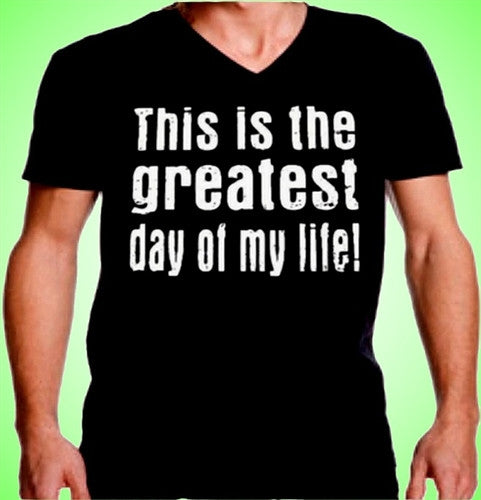 Greatest Day V-Neck 455