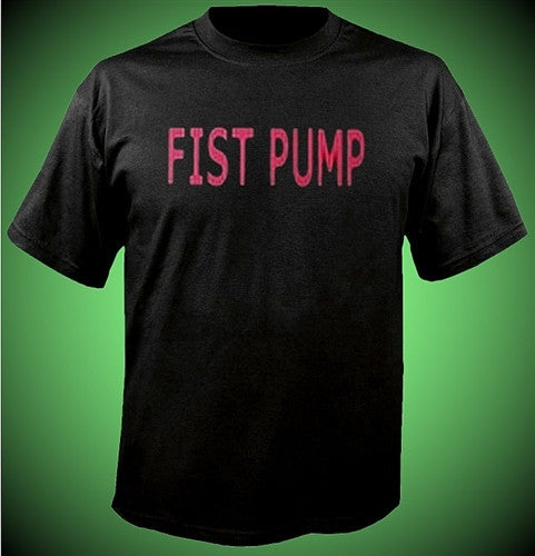 Fist Pump Pink T-Shirt B48