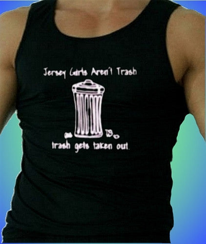 Jersey Girls Aren't Trash Tank Top M 111