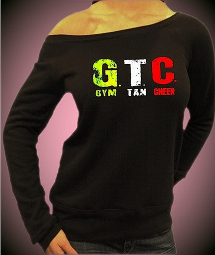 GTC Gym Tan Cheer Off The Shoulder 331