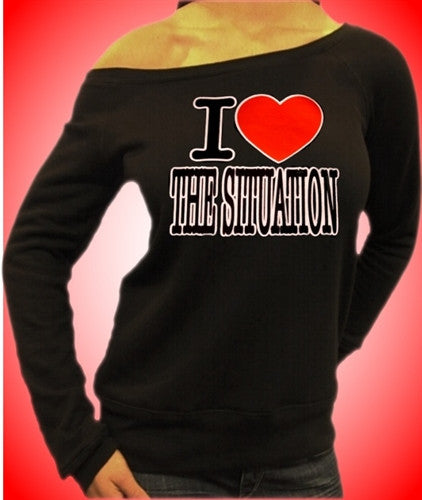 I Heart The Situation Off The Shoulder