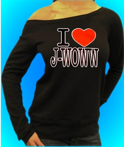 I Heart JWoww Off The Shoulder