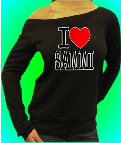 I Heart Sammi Off The Shoulder