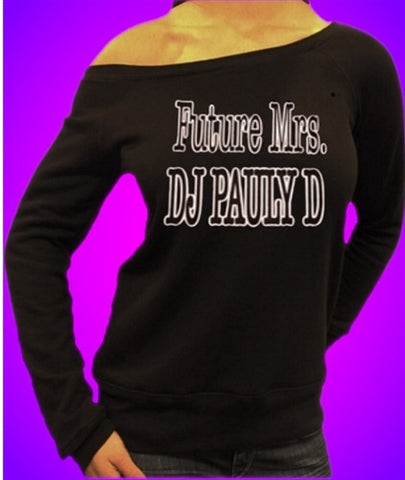 Future Mrs. DJ Pauly D Off The Shoulder