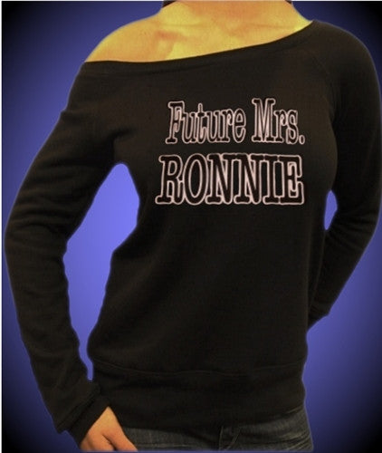 Future Mrs. Ronnie Off The Shoulder