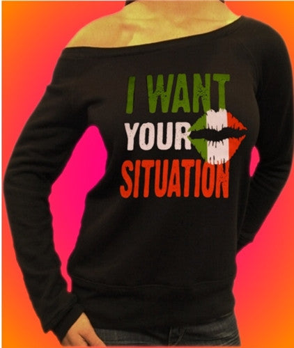 I Want Your Situation Off The Shoulder