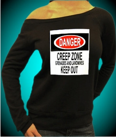 Danger Creep Zone Off The Shoulder