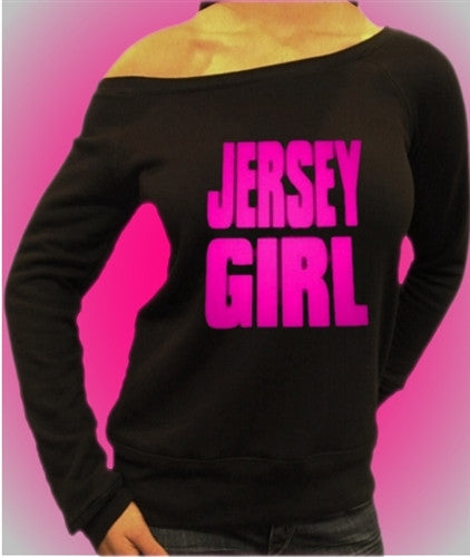 Jersey Girl Hot Pink Off The Shoulder